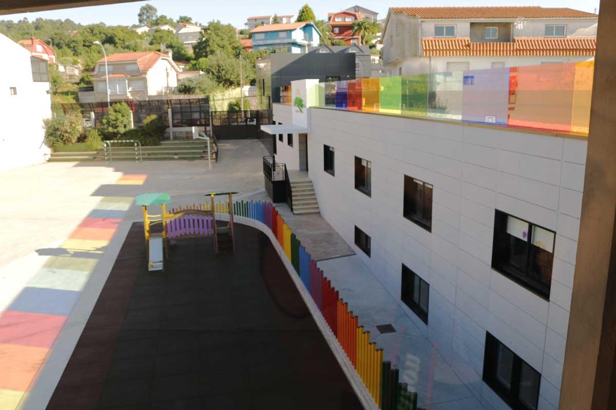 Cubierta Colegio Alborada