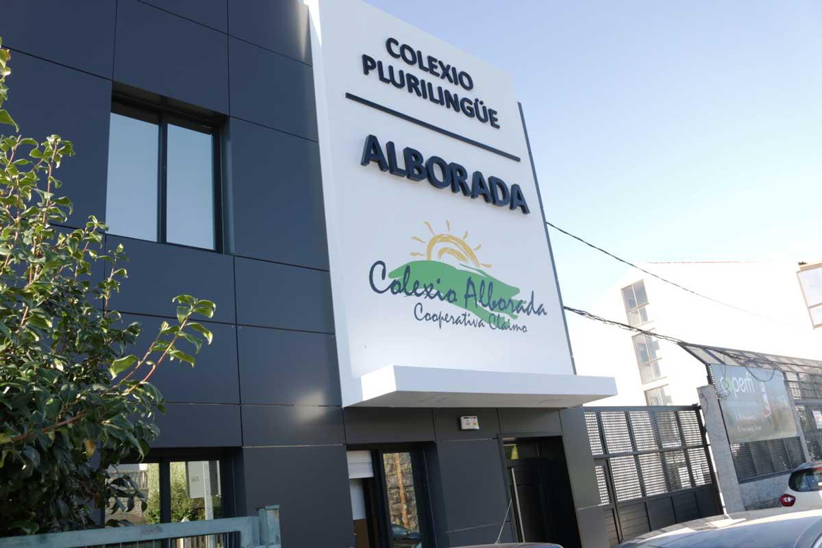 Fachada Colegio Alborada