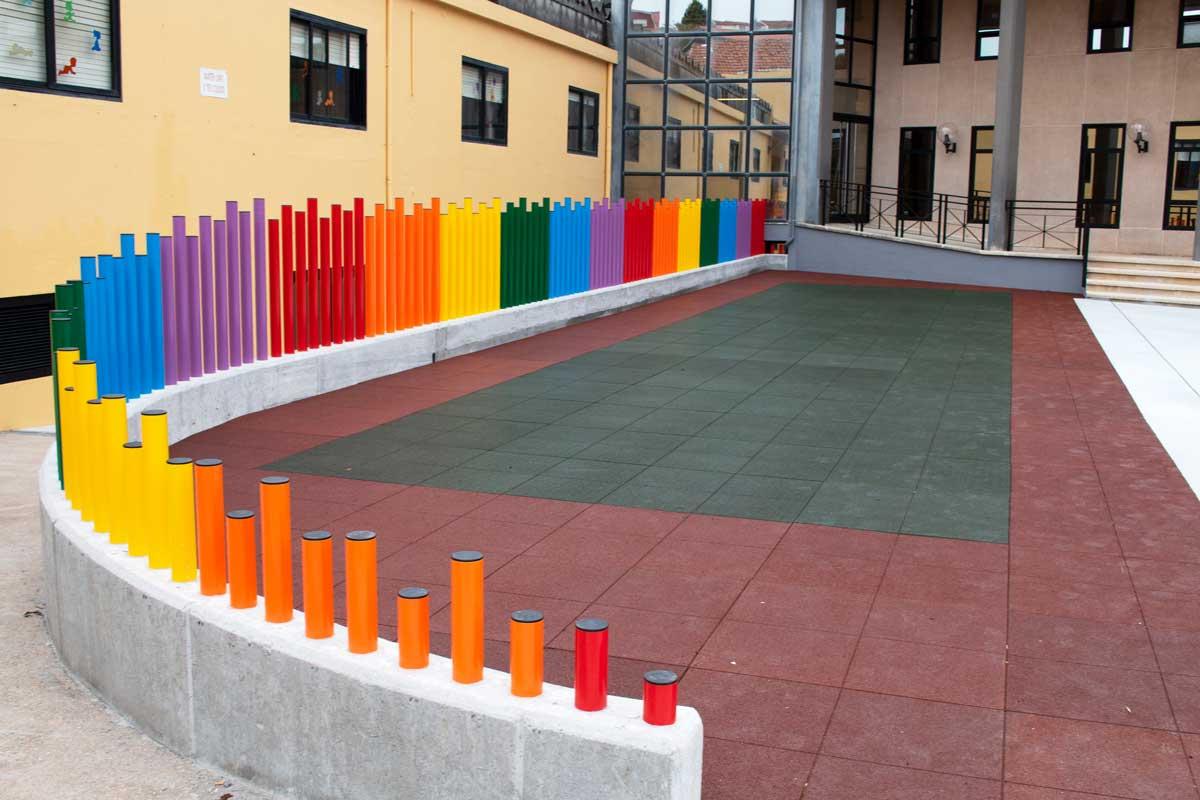 Patio del colegio - Zona infantil