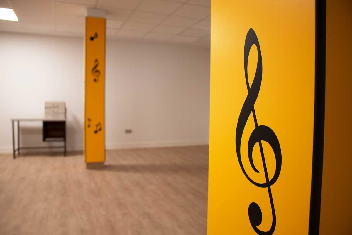 Reforma Colexio Alborada - Aula música